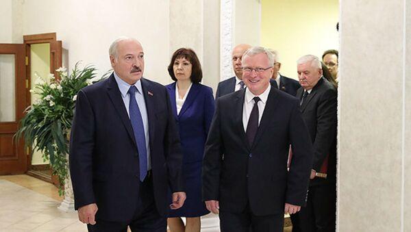 Лукашэнка распавёў пра свае патрабаванні да кіраўнікоў - Sputnik Беларусь