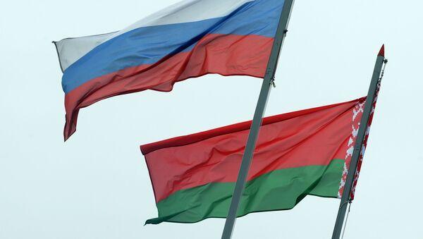 Сцягі Расіі і Беларусі, архіўнае фота - Sputnik Беларусь