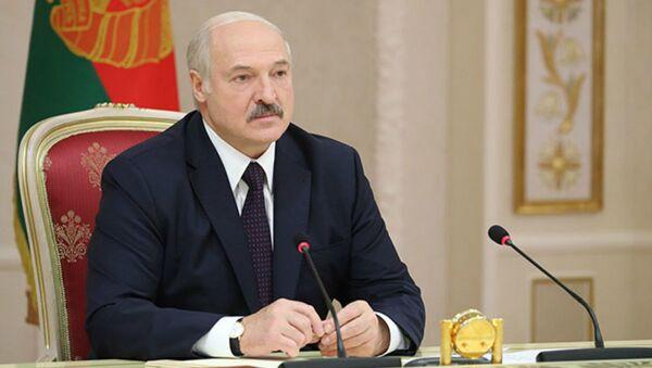 Лукашэнка раскрытыкаваў Мінінфарм за недастатковую антынаркатычную прапаганду - Sputnik Беларусь