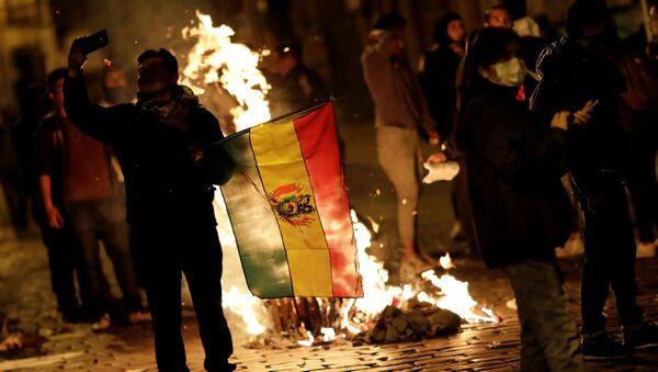 Беспорядки в Боливии - Sputnik Беларусь
