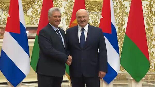 Президент Кубы посетил Беларусь с первым государственным визитом - Sputnik Беларусь