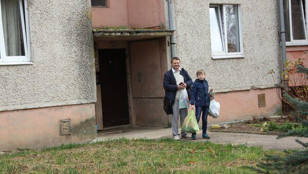 Дмитрий Шиманович с сыном Игнатом - Sputnik Беларусь