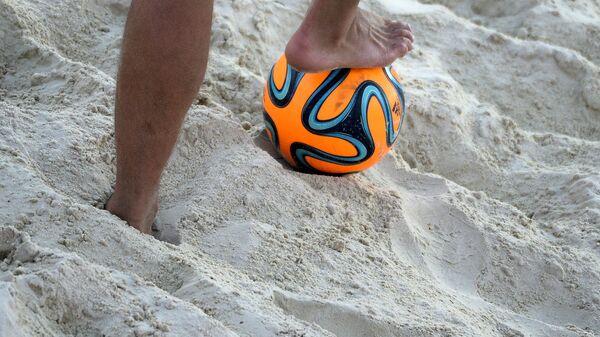 Пляжный футбол, архивное фото - Sputnik Беларусь