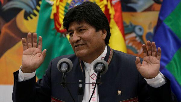 Действующий президент Боливии Эво Моралес - Sputnik Беларусь