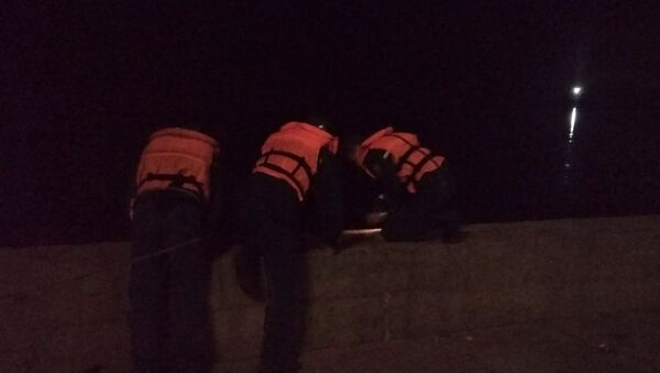 Женщина ночью упала с парапета в реку – доставали спасатели - Sputnik Беларусь