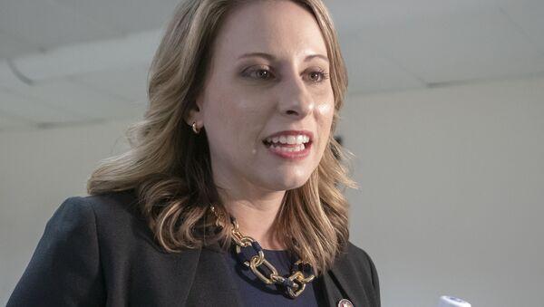 Член палаты представителей Кэти Хилл - Sputnik Беларусь