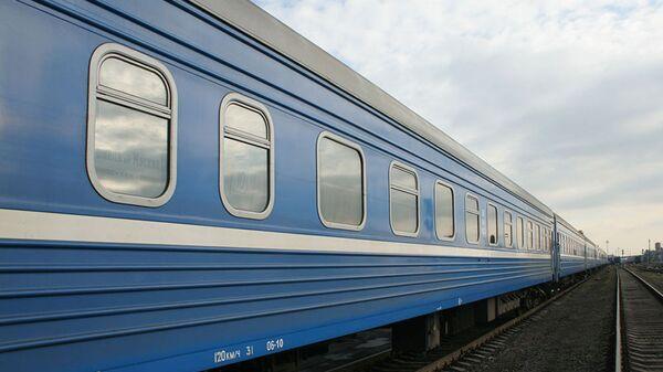 Поезд БЖД - Sputnik Беларусь
