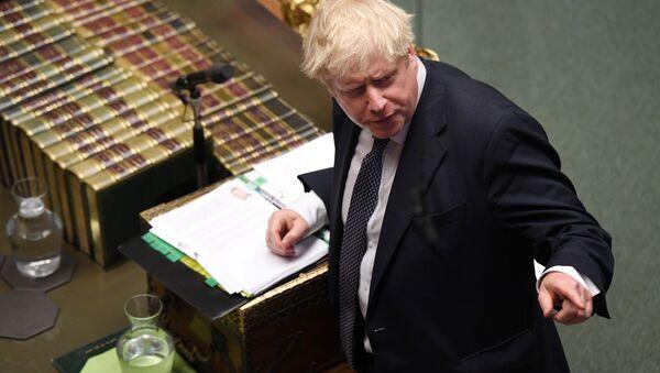 Премьер-министр Британии Борис Джонсон - Sputnik Беларусь