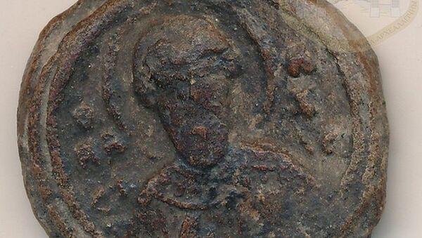Гродзенскія археолагі знайшлі пячатку Уладзіміра Манамаха - Sputnik Беларусь