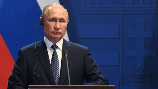 Президент России Владимир Путин - Sputnik Беларусь