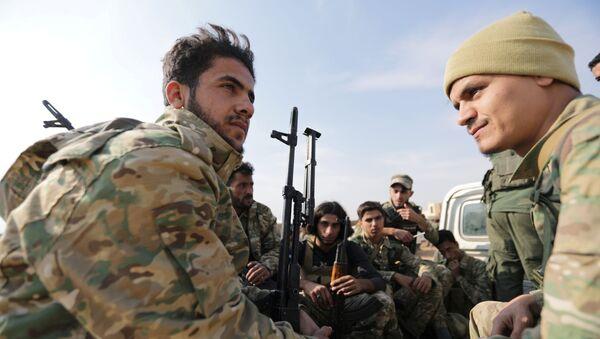 Турецкие военные в Сирии - Sputnik Беларусь