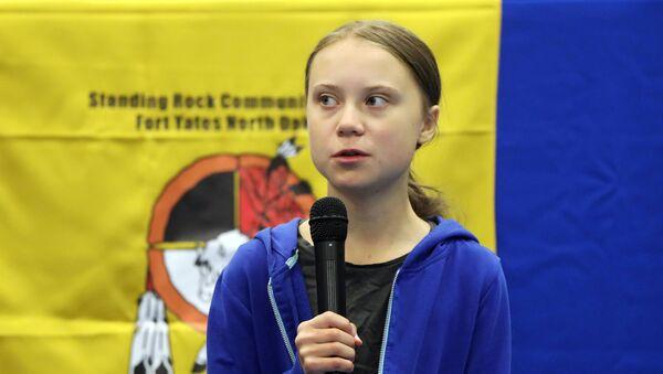 Шведская экоактивистка Грета Тунберг - Sputnik Беларусь