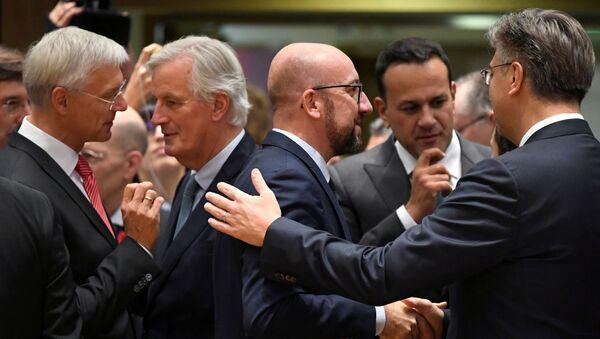 Саммит ЕС в Брюсселе - Sputnik Беларусь