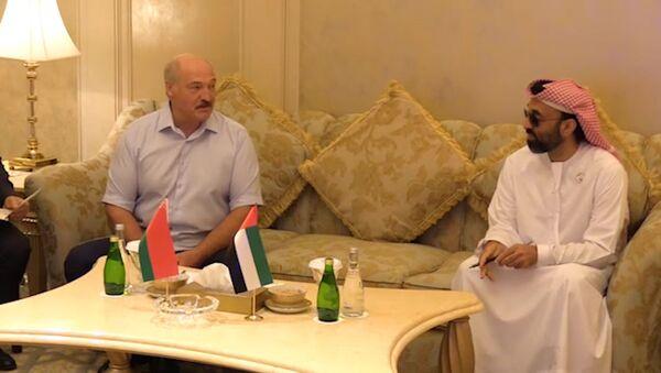 Як Лукашэнка з арабскім шэйхам штучны інтэлект абмяркоўваў – відэа - Sputnik Беларусь