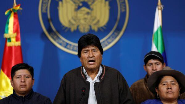 Президент Боливии Эво Моралес - Sputnik Беларусь