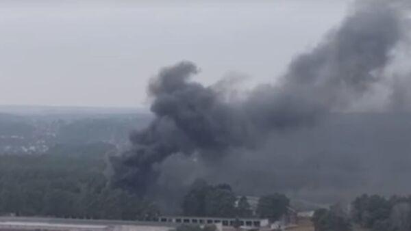 Пожар в военной части в Гродно - Sputnik Беларусь