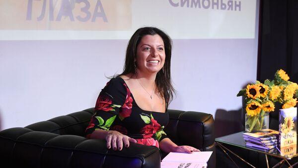 Маргарыта Сіманьян прадставіла сваю кнігу Чорныя вочы - Sputnik Беларусь