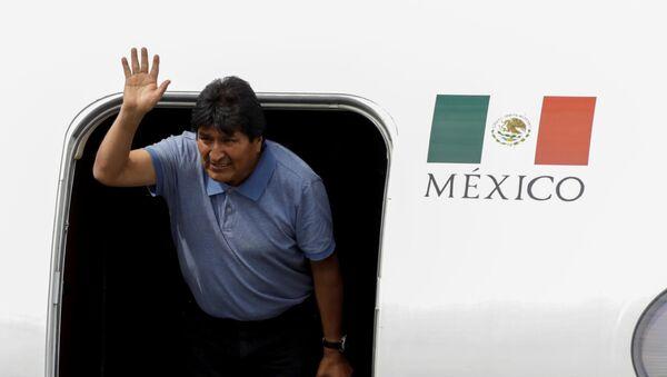 Экс-президент Боливии Эво Моралес в Мексике - Sputnik Беларусь