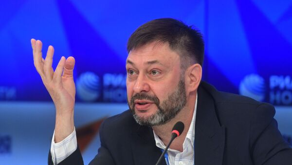 Выканаўчы дырэктар МІА Россия сегодня Кірыл Вышынскі - Sputnik Беларусь