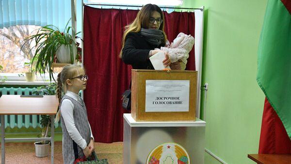 Парламенцкія выбары ў Беларусі 2019 - Sputnik Беларусь