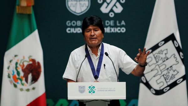 Бывший президент Боливии Эво Моралес - Sputnik Беларусь