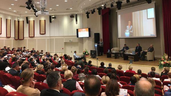 Восьмая штогадовая міжнародная канферэнцыя Еўразійскай Асацыяцыі ацэнкі якасці адукацыі (ЕААЯА) - Sputnik Беларусь