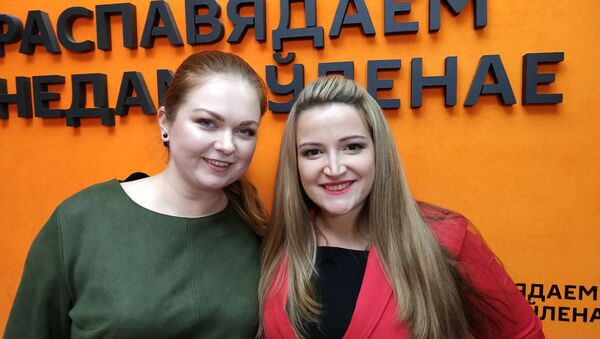 Беларускі на Міс Свету Plus Size: нацыянальныя касцюмы шылі з абрусаў - Sputnik Беларусь