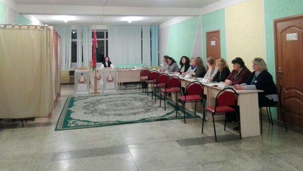 Избирательные участки открылись с 8 утра - Sputnik Беларусь