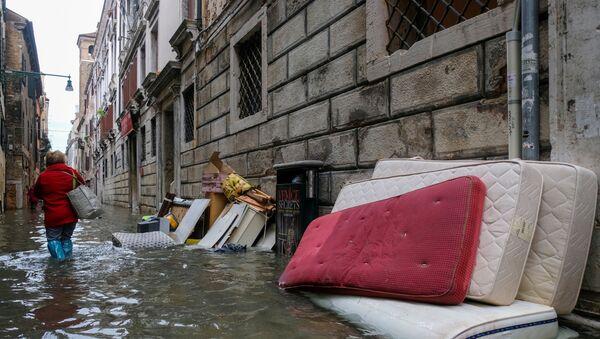 Наводнение в Венеции - Sputnik Беларусь