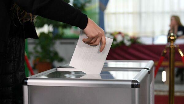Голосование на выборах в Палату представителей - Sputnik Беларусь
