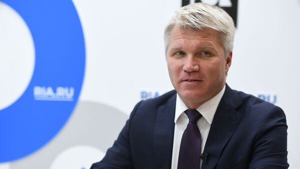 Міністр спорту РФ Павел Калабкоў - Sputnik Беларусь