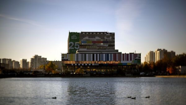 Телевизионный технический центр Останкино и Останкинский пруд в Москве - Sputnik Беларусь