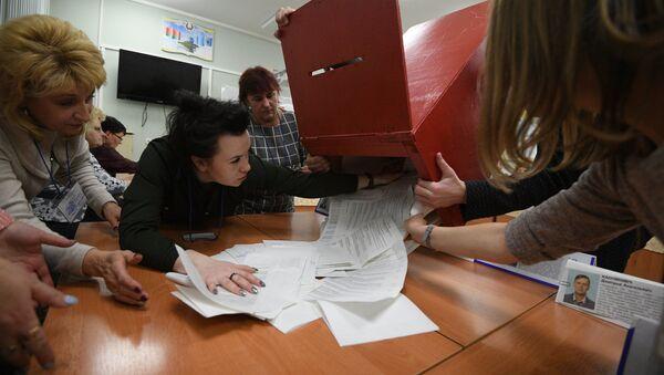 Избирательные участки по всей стране закрылись в восемь часов вечера - Sputnik Беларусь