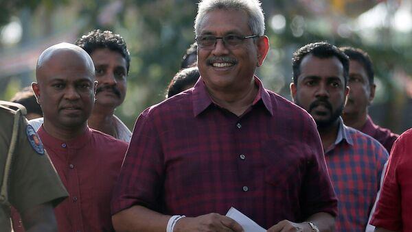 Президент Шри-Ланки Готабая Раджапакс - Sputnik Беларусь