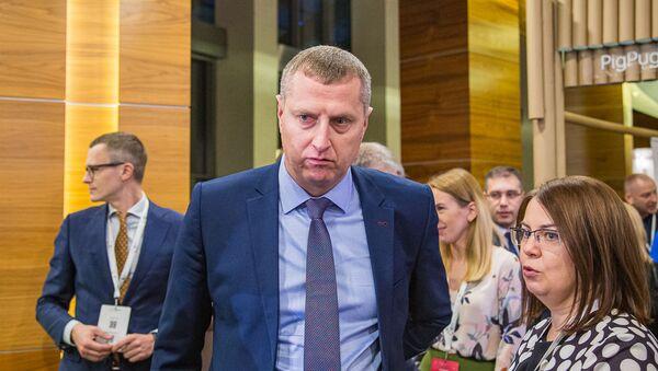 Міністр эканомікі Рэспублікі Беларусь Дзмітрый Крутой - Sputnik Беларусь