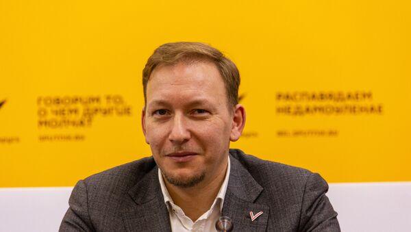 Беларускі палітолаг Андрей Дзімітрыеў - Sputnik Беларусь