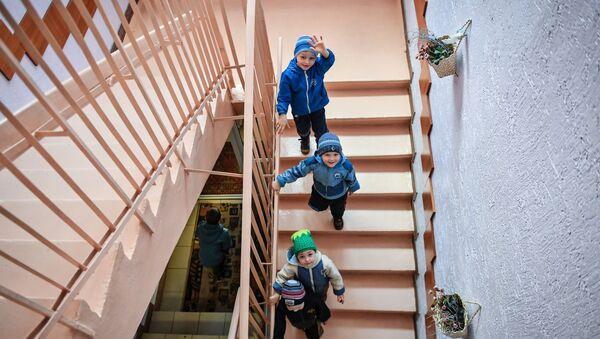 Воспитанники детского дома - Sputnik Беларусь