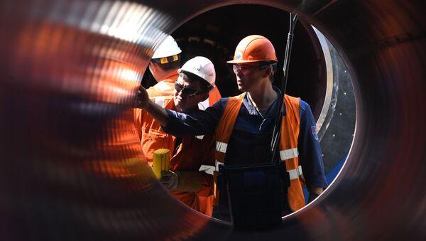 Строительство газопровода Северный поток-2 - Sputnik Беларусь