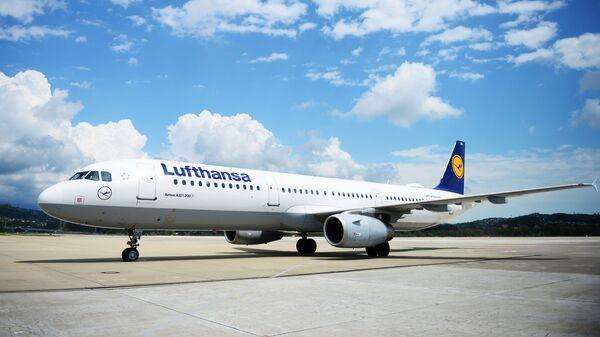 Самалёт авіякампаніі Lufthansa - Sputnik Беларусь