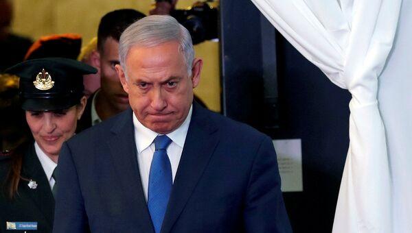 Премьер-министр Израиля Биньямин Нетаньяху - Sputnik Беларусь