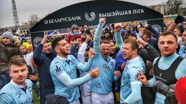 Футбалісты брэсцкага Дынама - Sputnik Беларусь