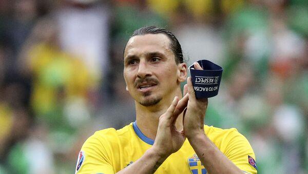 Игрок сборной Швеции Златан Ибрагимович - Sputnik Беларусь