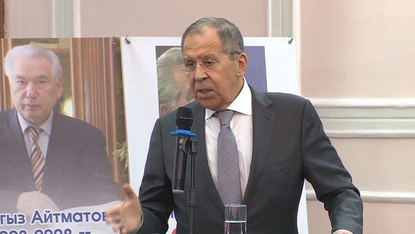 Лавров посоветовал Западу отказаться от имперских замашек - видео - Sputnik Беларусь