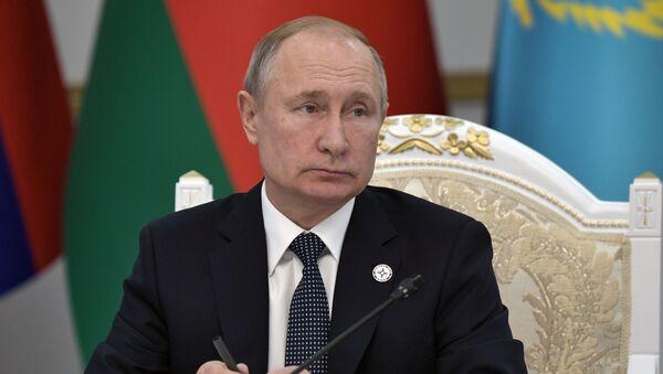 Рабочий визит президента РФ В. Путина в Киргизию - Sputnik Беларусь