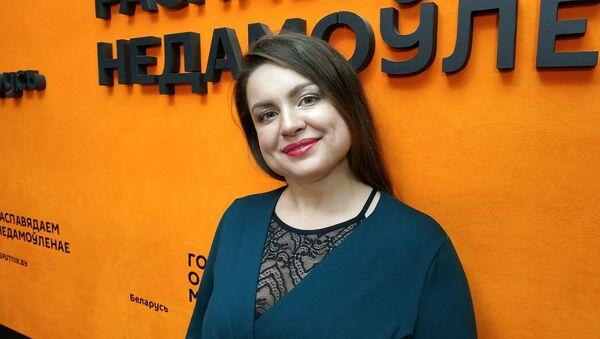 Кандидат медицинских наук, сотрудник РНПЦ психического здоровья Алина Волченко  - Sputnik Беларусь