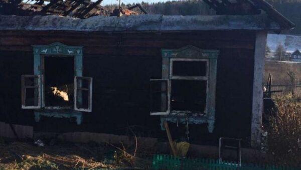 Три человека погибли на пожаре под Логойском - Sputnik Беларусь