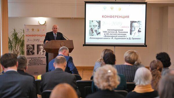 Пасол Мезенцаў: нельга пераасэнсоўваць ролю салдата Вялікай Айчыннай - Sputnik Беларусь