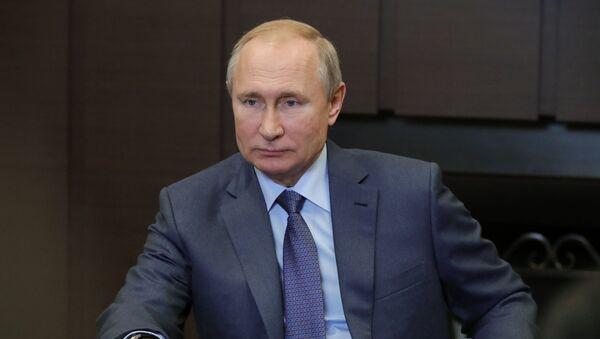 Прэзідэнт РФ Уладзімір Пуцін - Sputnik Беларусь
