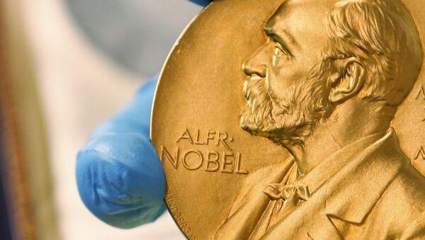 Золотая медаль Нобелевский премии - Sputnik Беларусь