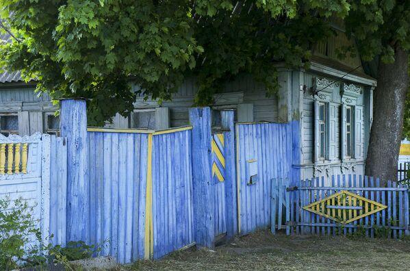 Синий забор - Sputnik Беларусь